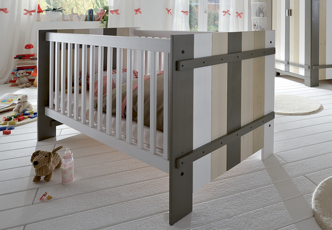 babybett kinderbett milano m bel online kaufen more2home online shop. Black Bedroom Furniture Sets. Home Design Ideas