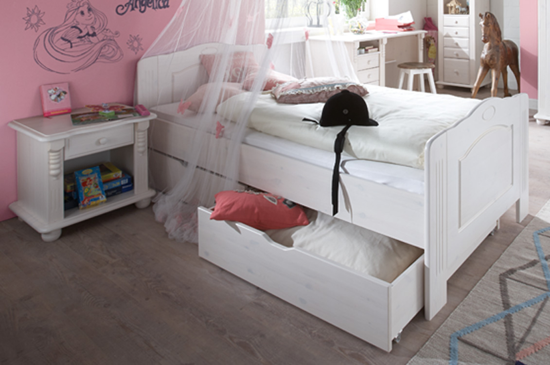 einzelbett jugendbett roma m bel online kaufen more2home online shop. Black Bedroom Furniture Sets. Home Design Ideas