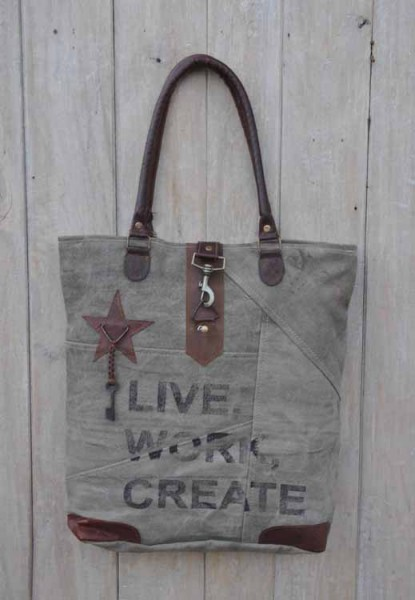 Tasche LIVE WORK CREATE