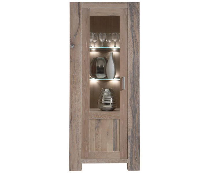 holzvitrine fano m bel online kaufen more2home online shop. Black Bedroom Furniture Sets. Home Design Ideas