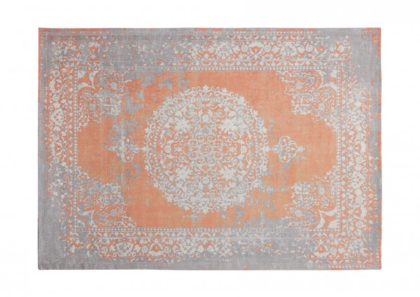 Vintage-Teppich ORANGE, 170 x 240 cm, orange