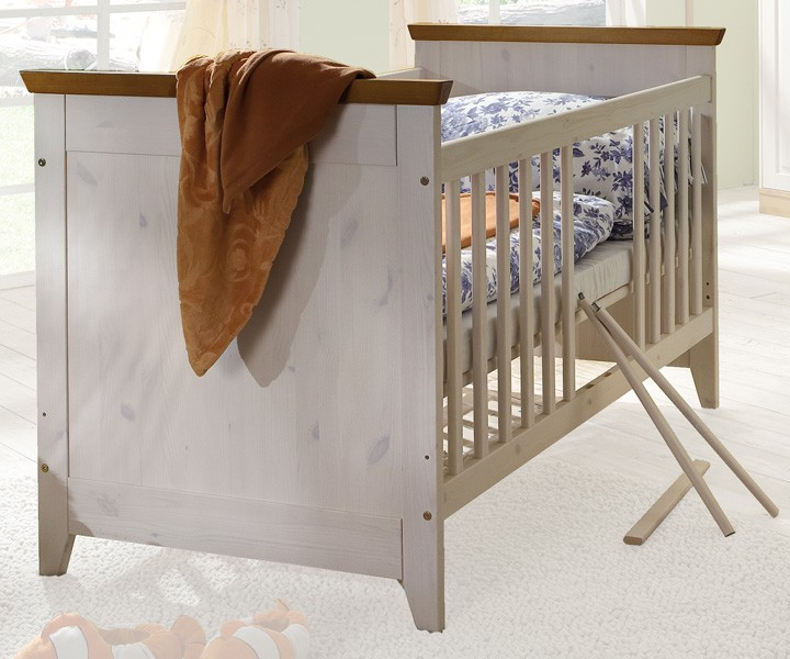 babybett kinderbett helsinki m bel online kaufen more2home online shop. Black Bedroom Furniture Sets. Home Design Ideas